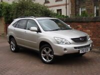 FINANCE AVAILABLE! 2006 LEXUS RX 3.3 400H SE-L CVT 5dr 208 BHP AUTO HYBRID-ELE FULL LEATHER WARRANTY