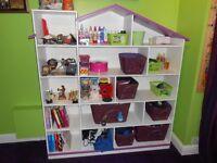 Bedroom shelf and storage unit - Custom Made