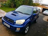 Toyota rav 4 d4d very low milage 4x4 (cat c)