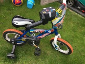 Hot Wheels turbo revving toddler bike
