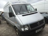Volkswagen lt 35 2.5 tdi mwb 2005 year spare parts breking