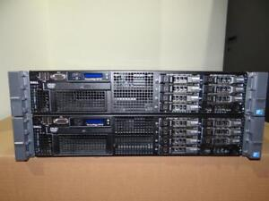 "Dell PowerEdge R710 Server - 2x Xeon Hex Core 2.66GHz (X5650) -72GB RAM  8X147GB-SAS 10K 2.5"" Hard Drives- PERC 6i RAID"