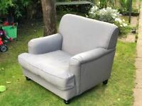 Grey Armchair, Orson by Made. com