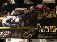 Scalextric Italian job with lots of extra track