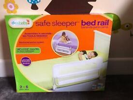 Dex Baby Safe Sleeper White Bed Rail - excellent condition