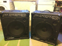 2 x Laney KD100 Electronic Amplifiers (£60 for one, £100 for both)