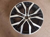 "Volkswagen 19"" Santiago Genuine Alloy wheel - Mk7 Golf"