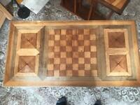 Oak phone table