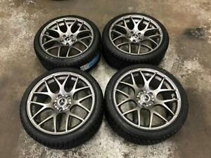 "18"" Mercedes VMR Gun Metal Wheels And 225/40R18 Winter Tires (C300, C250)"