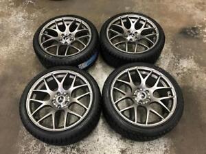 "18"" Mercedes VMR Gun Metal Wheels And 225/40R18 Winter Tires (C300, C250)"