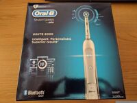 Oral B pro 6000 smart series in white