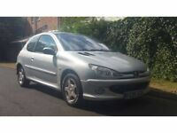 2005 PEUGEOT 206 ++ FACE LIFT MODEL ++ 3 DOOR ++ SILVER ++ HPI CLEAR ++ LOW MILEAGE FOR THE YEAR ++