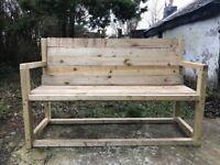 Garden bench 3 seater