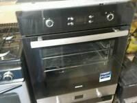 Intregated Beko Black oven + ceramik desck logic
