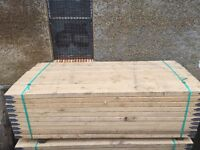 Scaffold boards brand new kwick stage 2.4m/8ft long x 60mm thick x 9inch wide