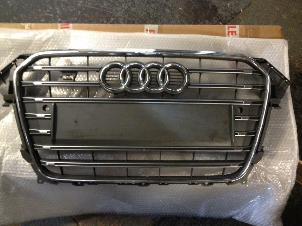audi s4 a4 b8 facelift front grill b8 5 2012 2014 bumper in stoke on trent staffordshire. Black Bedroom Furniture Sets. Home Design Ideas