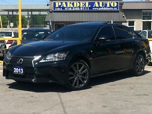 2013 Lexus GS 350 F SPORT PKG*AWD*19 RIMS*NAVI*CAMERA*TECH PKG*C