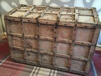 Colonial Indian dowry chest