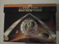 Star Trek Enterprise Blu Ray Discs Complete Deasons 1 - 4