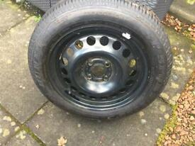 Brand new wheel and tyre 195/60r15 for Astra /Astra can