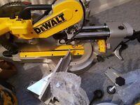 Chop saw Dewalt DWS780 230v