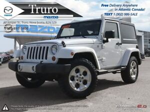 2013 Jeep Wrangler MANUAL! SAHARA! NEW TIRES! HARD TOP! MANUAL!