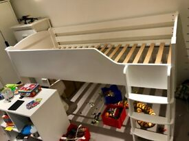 Aspace Juicy Fruits Mid Sleeper + Wardrobe + Drawers + 2 x Storage units