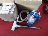 small blue vax hoover in working order
