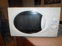 SMALL MICROWAVE FROM TESCO 700 watt