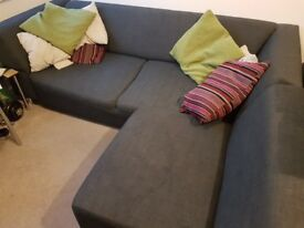 Corner Sofa, good condition selling due to relocation. Will need large vehicle to transport - £100