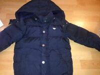 Armani navy child's coat