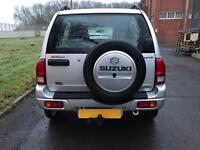 2004 SUZUKI GRAND VITARA 2.0 DIESEL SILVER 5 DOOR VGC