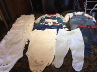 Bundle of children's clothes for sale - boys 3-6 months, excellent condition, 18 items for just £5!