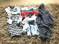 Baby boys clothing bundle 3-6 months
