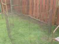 METAL PET RUN WOULD SUIT RABBIT GUINEA PIG AND MORE £15