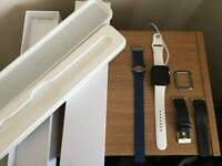 Apple watch 42mm series 1 with straps and applecare cover