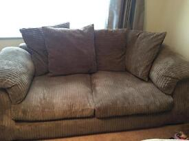 Excellent condition 2 x scatter back sofas for sale