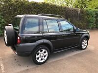 Land Rover freelander petrol, 5dr in black. The car has done 65,184 miles and has 12 months mot.