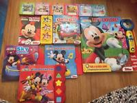 Disney Mickey Mouse book bundle