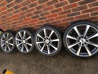"17"" multifit alloy wheel - 4 stud - Astra corsa golf Fiesta"
