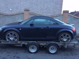 AUDI TT 225 BHP BREAKING ALL PARTS FOR SALE