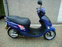 WK Bikes 50 cc scooter for sale V5 , 1 ignition key , Mot included