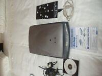 IOMEGA 650 ZIP DRIVE - EXTERNAL BURN TO CD