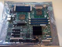 Intel Server board dual CPU with twin Xeon processors and ram FINAL PRICE