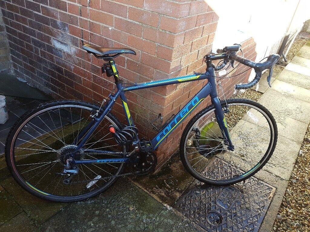 "Carrera Tanneri II CX hybrid bike 21.3"""