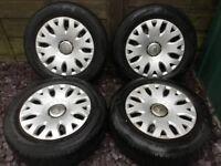 1856515 Citroen Xsara Picasso wheels and tyres