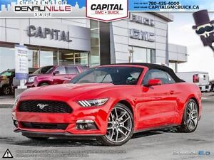 2016 Ford Mustang EcoBoost Premium CONVERTIBLE- SYNC w/8 screen