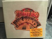 New-Travelling Wilburys Limited Edition 2xCD & 1 DVD Collection, sealed & numbered, white