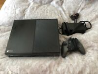 X box one 500 gb.With wired controller. All cables.Excellent condition £110 NO OFFERS.CAN DELIVER