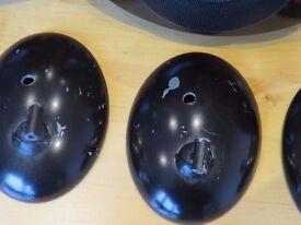 Kef Pod AV Surround Sound Speakers model HTS2001, (5) in black